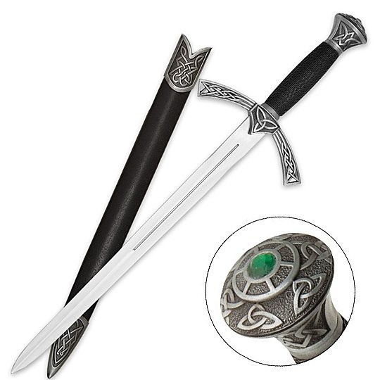Celtic Sword. Okay, I never thought I would ever find something that matched exactly what I pictured in my head while writing.......Until I found this...