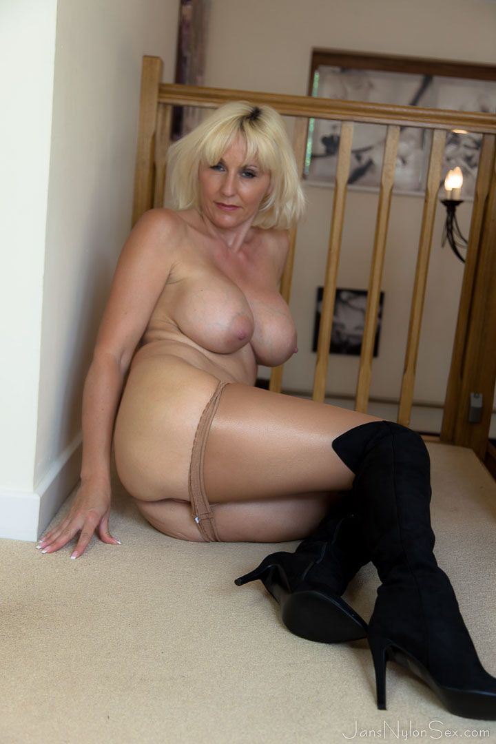 Naked older women solo can