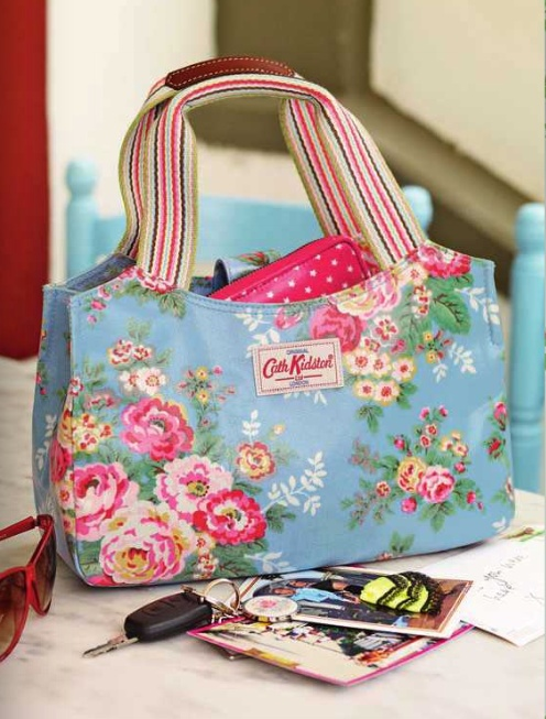 Cath Kidston bag. I have one in this design. it my favourite