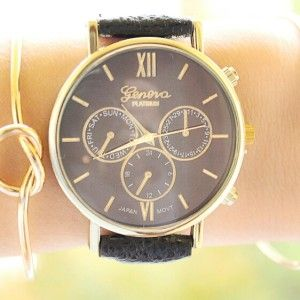 TRENDY LEATHER WATCH (2)