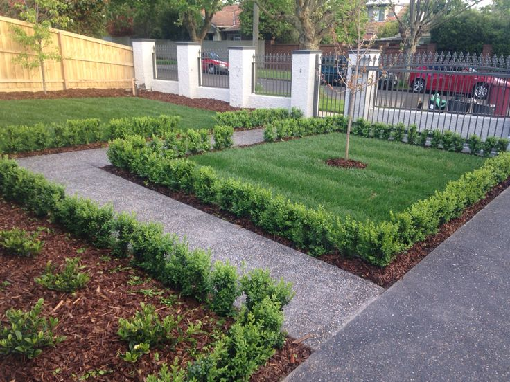 Melbourne front garden completed