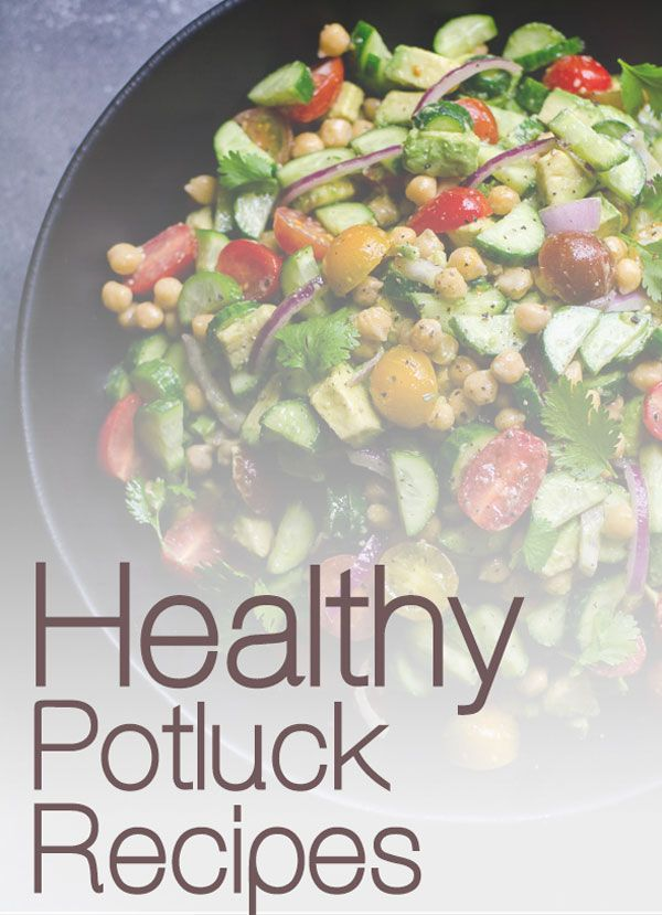 40 Healthy Potluck Recipes featuring crowd pleasing dips, salads, grilled mains and desserts, that can be made ahead and travel well. | ifoodreal.com
