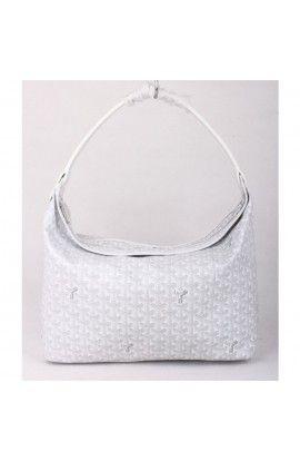 Goyard Fidji Hobo Bag White