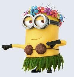 Minion hula for Andres' bday @Kelly Teske Goldsworthy Teske Goldsworthy Teske Goldsworthy Flagg