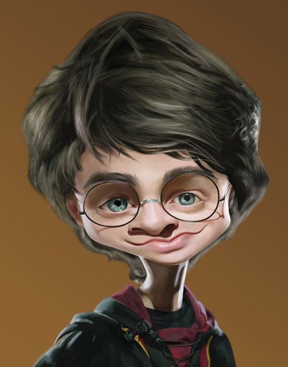 Harry Potter Funny Caricature