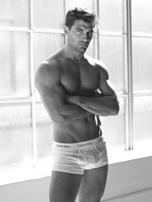 David Gandy is male perfection But this guy could be first runner up! {{Thx for correction Kimberly}}