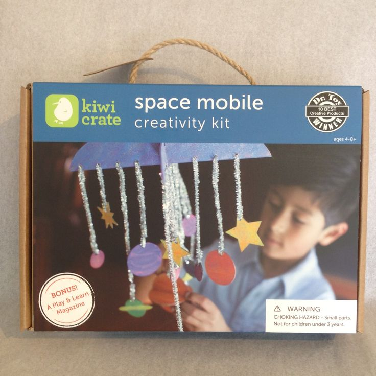 SPACE MOBILE BY KIWI CRATE Make a