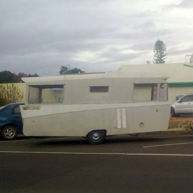 Retro Campers | 1963 carapark astronaut | Vintage Campers & Trailers