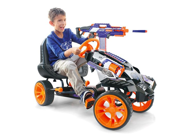 this-nerf-battle-racer-go-kart-is-loaded-with-firepower