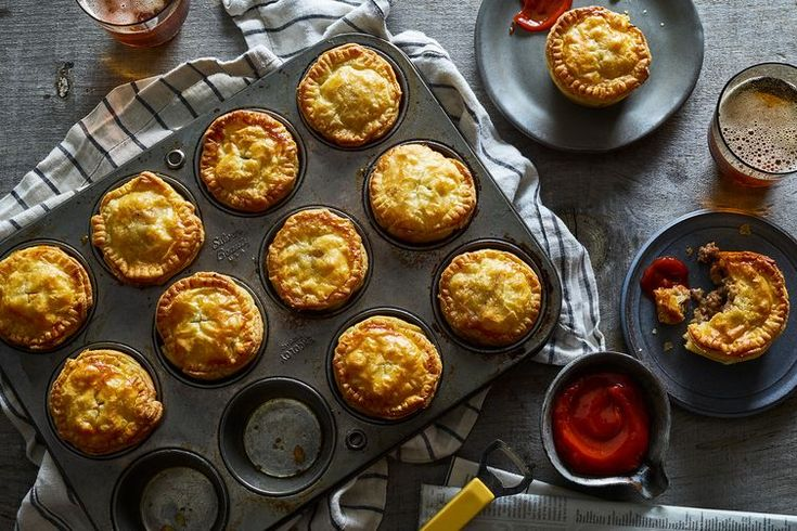 New Zealand-Style Beef & Cheddar Pies recipe on Food52