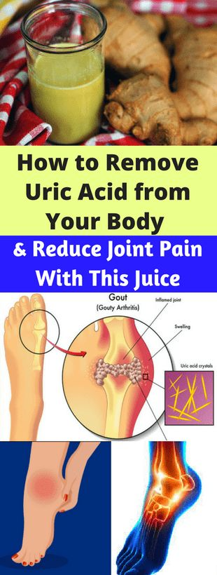 How to Remove Uric Acid from Your Body and Reduce Joint Pain With This Juice - Workout Hit