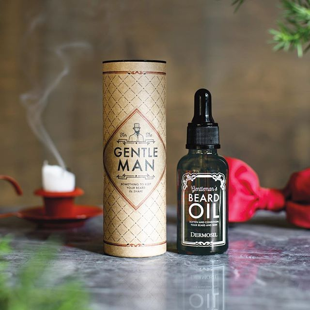 Gentleman <3 Beard oil - a must have this #movember!
