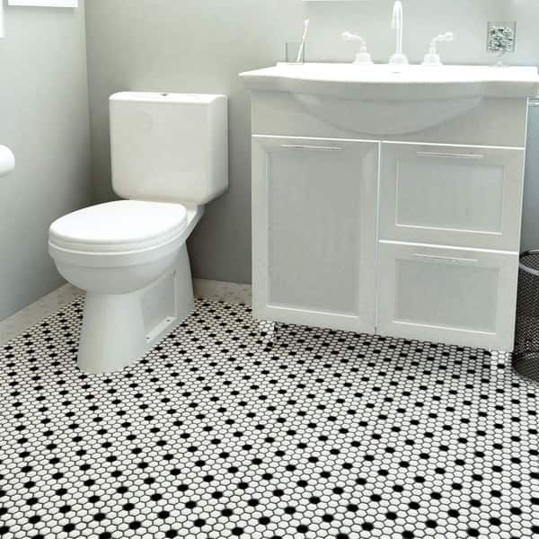 Overstock Com Online Shopping Bedding Furniture Electronics Jewelry Clothing More Porcelain Mosaic Tile Bathroom Floor Tiles Porcelain Mosaic