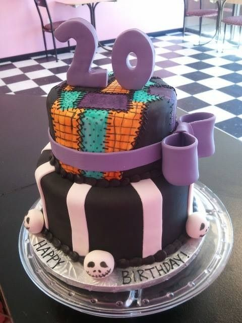 Nightmare Before Christmas Cake Celebration Cakes In