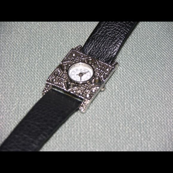 Rumors Watch Silver Rumours Watch - face is 1 inch square. Jewelry