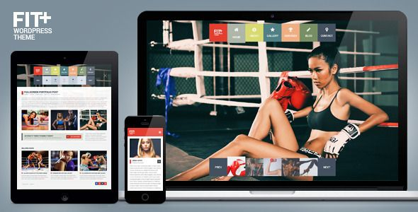 Fit+ Multipurpose Sports WordPress Theme   http://themeforest.net/item/fit-multipurpose-sports-wordpress-theme/7940206?ref=damiamio        Fit+ Multipurpose Sports WordPress Theme  Sport is about strength, will power, competitive spirit and, of course, the incredible desire to be the winner. Actually, being the first in any business, is quite challengeable task. But if you get used to achieving the high results and planning to launch a sport related website, we would like to bring to your…