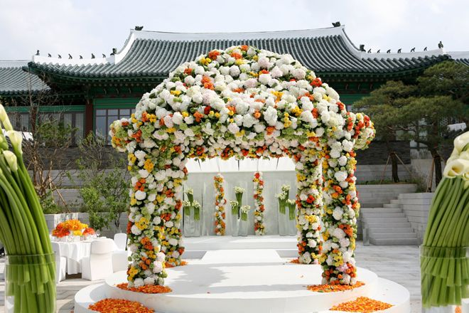 Wedding Ceremony Ideas Flower Covered Wedding Arch: 61 Best Images About Floral Wedding Arches And Curtains On