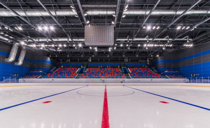The ice rinks of «Hockey town» sports complex