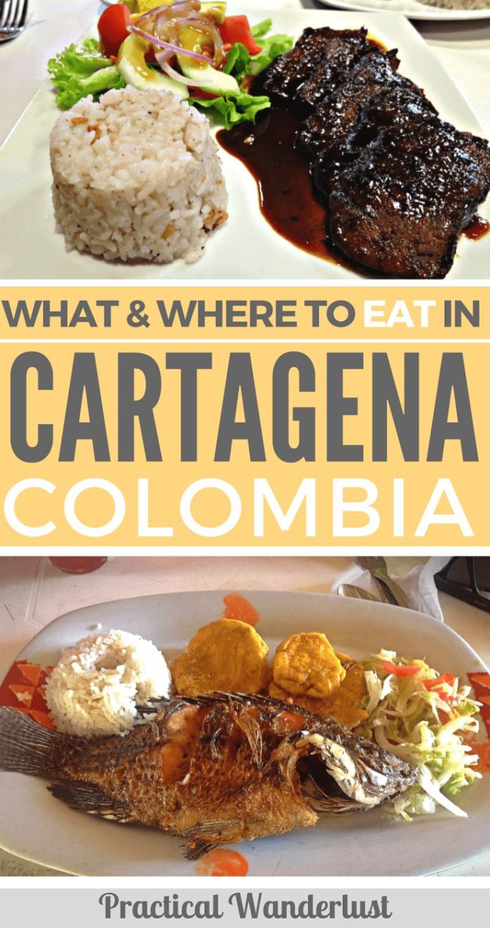 What & where to eat on a budget in Cartagena, Colombia! The best restaurants in Cartagena and Getsemani and what Colombian food to try.