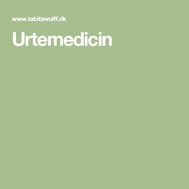Urtemedicin