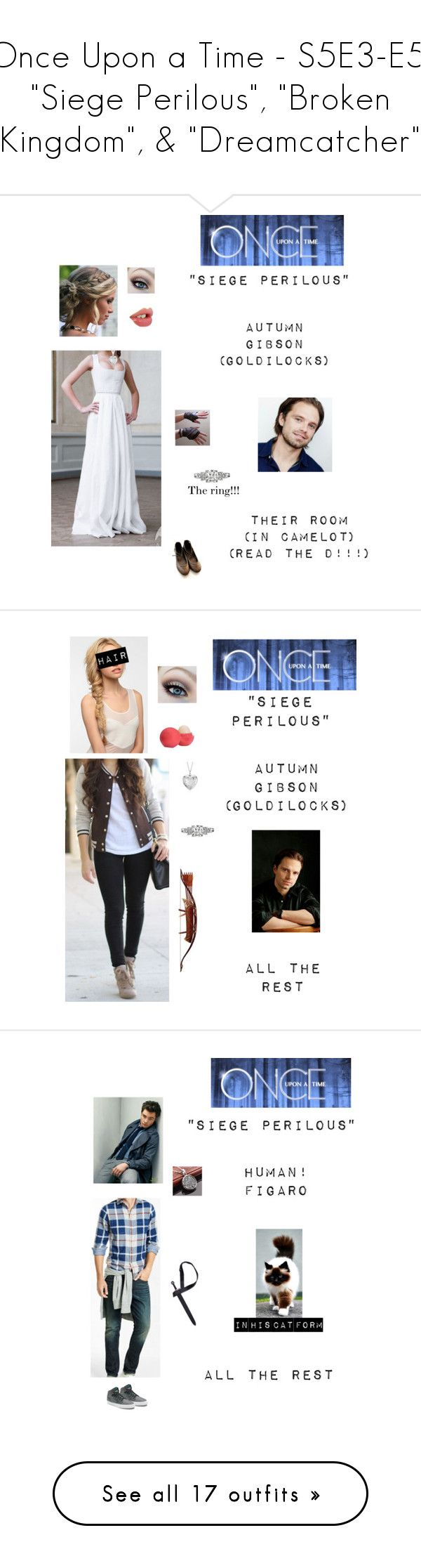 """""""Once Upon a Time - S5E3-E5: """"Siege Perilous"""", """"Broken Kingdom"""", & """"Dreamcatcher"""""""" by nerdbucket ❤ liked on Polyvore featuring ouat, Blue Nile, Sebastian Professional, Eos, Eva NYC, Express, Vans, men's fashion, menswear and Tiger of Sweden"""