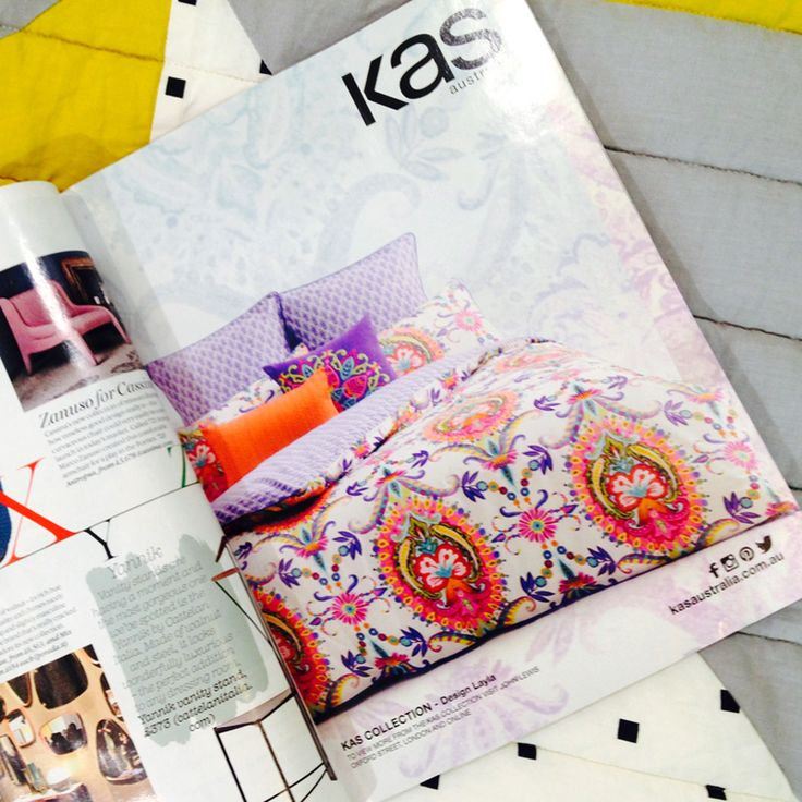 KAS design 'Layla' featured in October edition of @Livingetc Uk, available at @John Lewis, Oxford Street, London. #loveKas
