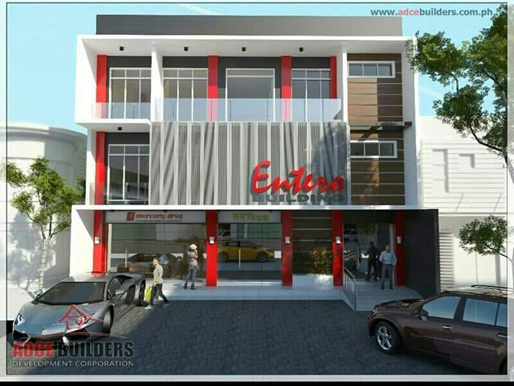 The first commercial center in loay bohol philippines a 3 for Single story commercial building design
