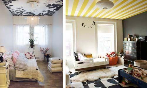 Basta bianco per il soffitto