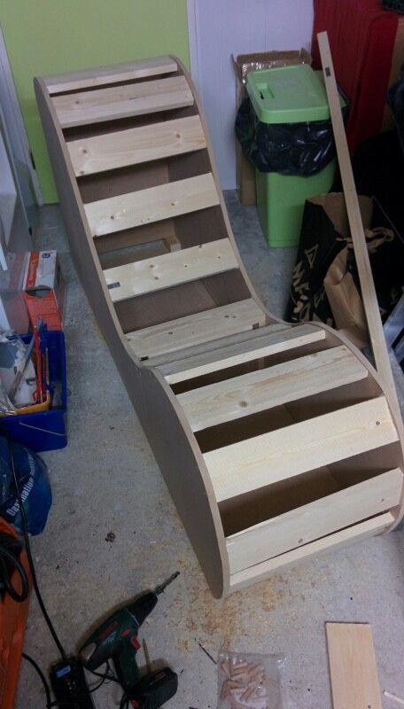 Etape 1 structure en bois tantra chair homemade pinterest structure en bois en bois et bois - Sillon tantra posiciones ...