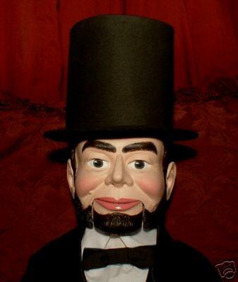 President Abraham Lincoln Ventriloquist Dummy Doll OOAK | eBay