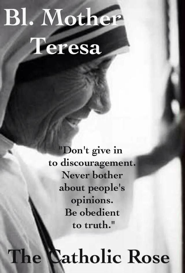 Be Obedient To The Truth   Blessed Mother Teresa
