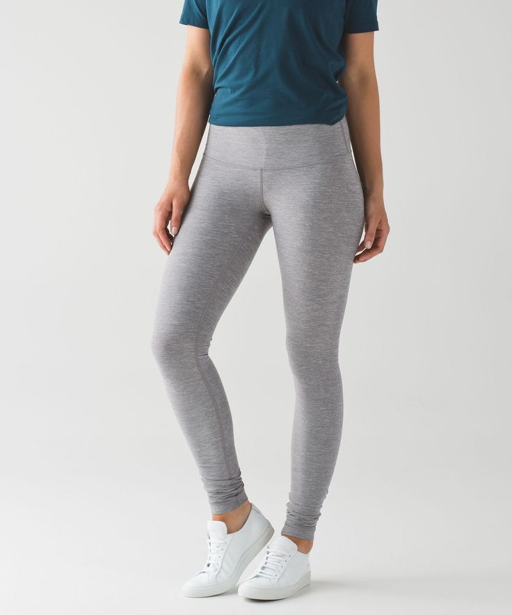 We created these pants to be a no-fuss tight for our yoga practice, but we just couldn't stop wearing them. Made of our signature four-way stretch Luon® fabric with a second-skin fit, they give us room to move and sweat from backbends to box jumps.