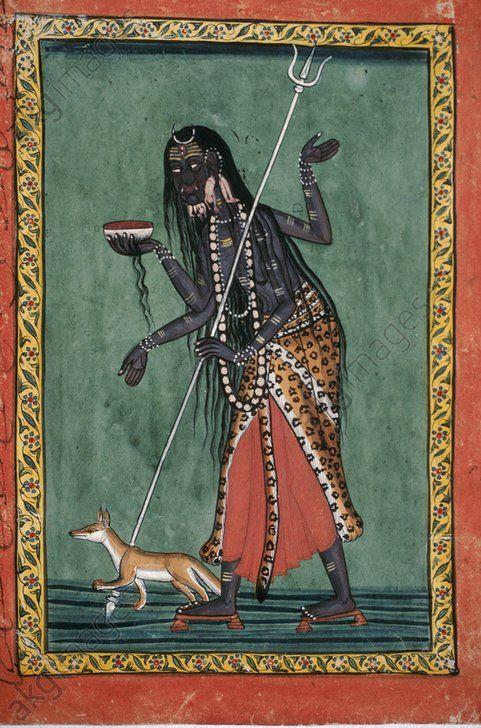 """hinducosmos: """" Bhairava 18th century. Kulu, Himachal Pradesh, India (via AKG images) """""""