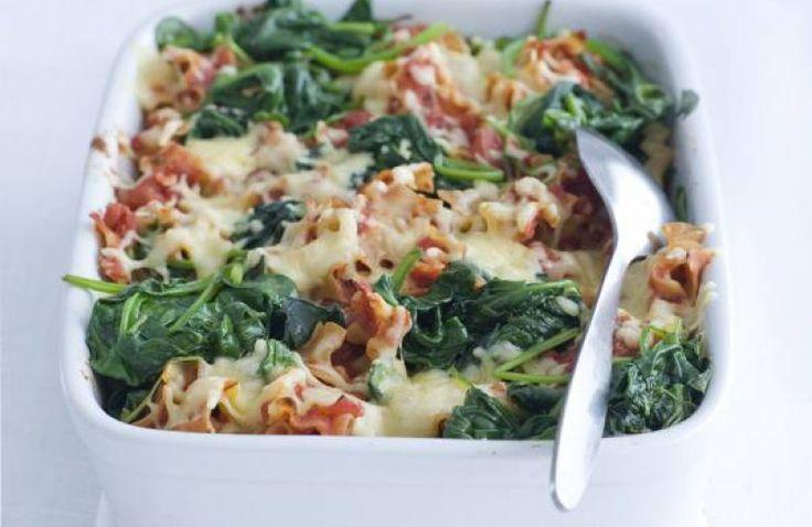 Lasagnette met spinazie
