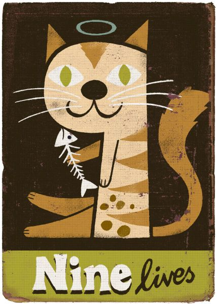 9 Lives by Paul Thurlby