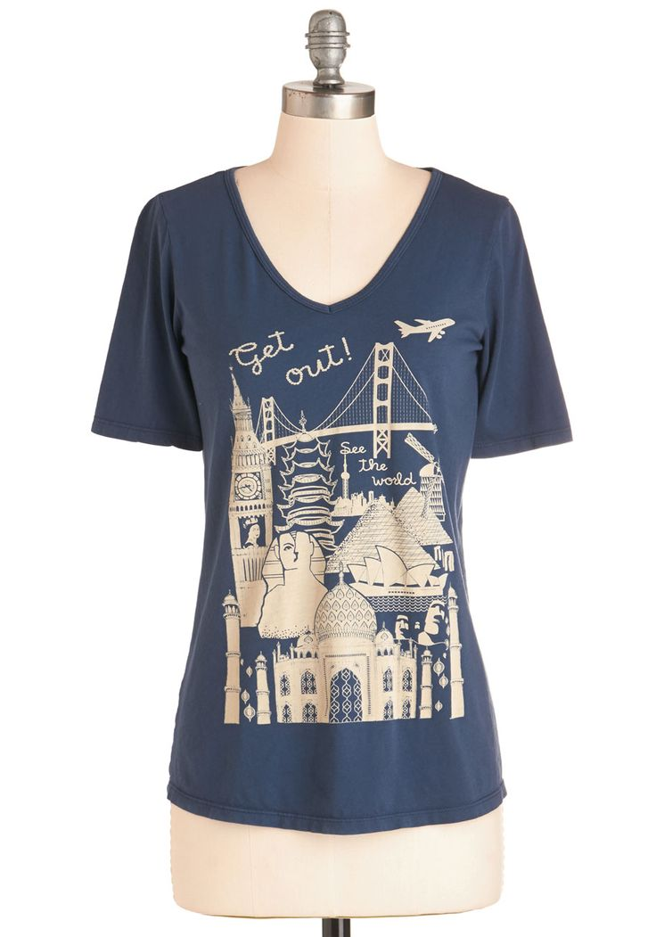 Cute Vintage Inspired Graphic Tees Shirts Modcloth
