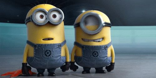 Delayed chuckle of Despicable Me minions: 63,217 | What The Most Texted GIFs Say About Our Fragile Humanity