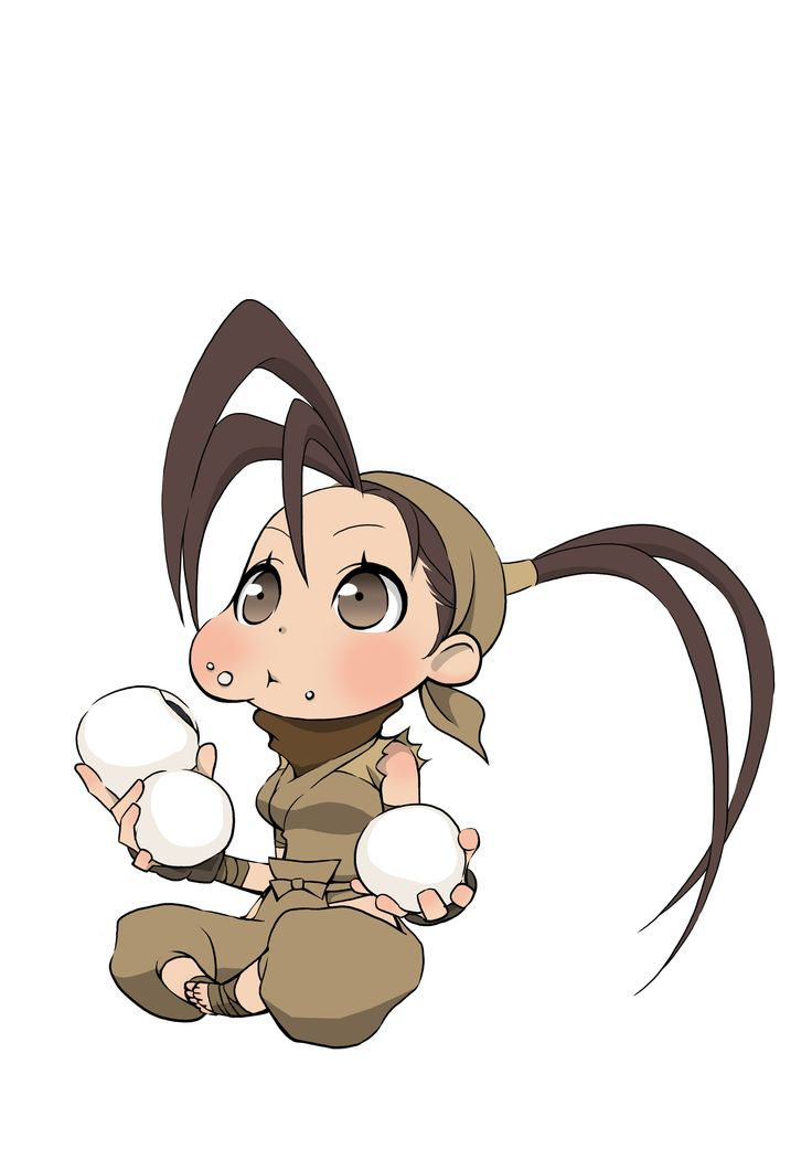 More chibi style artwork featuring Street Fighter characters, image #20 Ibuki