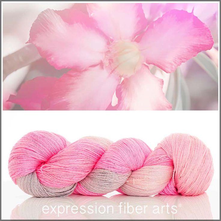 New yarn! Expression Fiber Arts - COQUETTISH YAK SILK LACE YARN, $39.00 (http://www.expressionfiberarts.com/products/coquettish-yak-silk-lace-yarn.html)