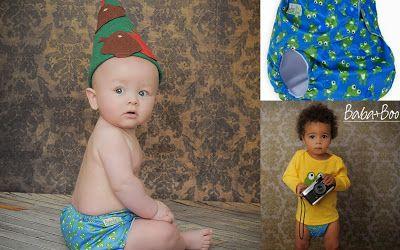 Scutece textile (refolosibile, lavabile) cu buzunar, marime unica, Baba+Boo.
