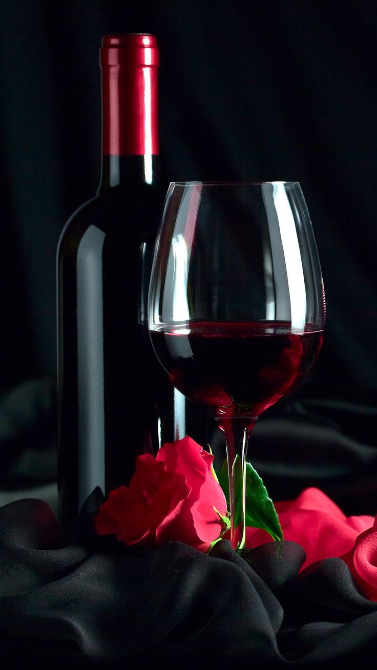 Картинки гифы вино и розы, новым