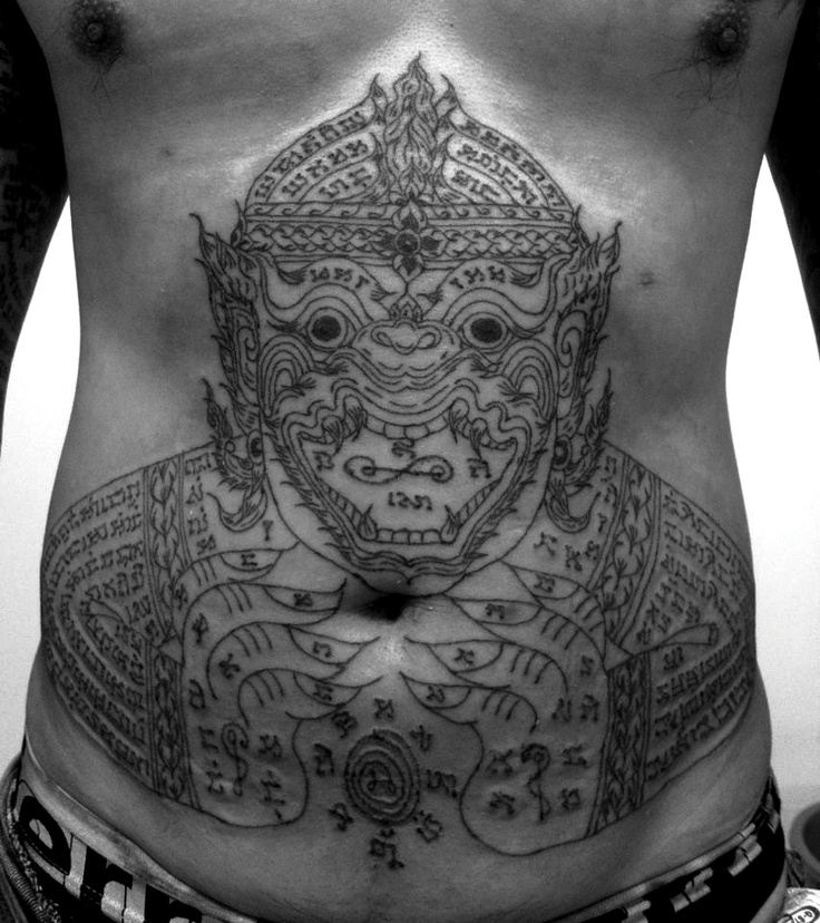 Muay Thai Tattoo Ideas And Their Meanings: 29 Best Images About Sak Yant On Pinterest