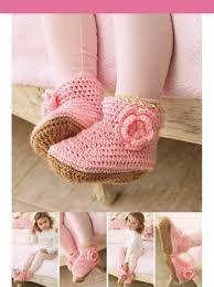 Delicadezas en crochet Gabriela: Aprende a tejer botitas a tu bebé