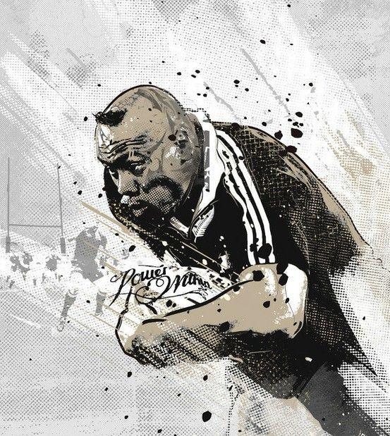 Jonah Lomu rugby #design
