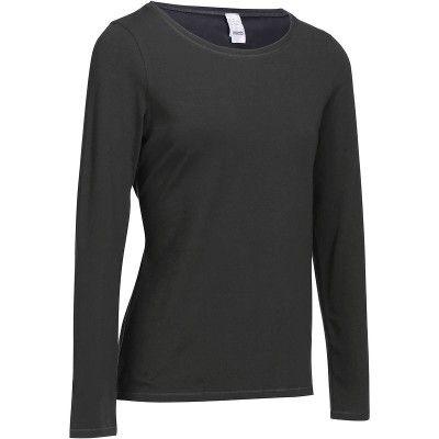 Fitness_Fitnesskleding Sportkleding - Fitness T-shirt Essentiel DOMYOS - Bovenkleding Dames
