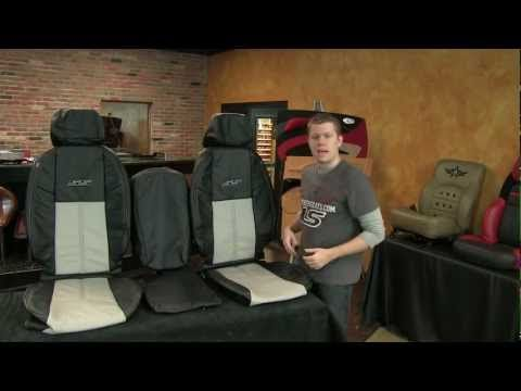 2007 to 2013 Chevy Silverado Crew Cab Leather Upholstery Kit - YouTube