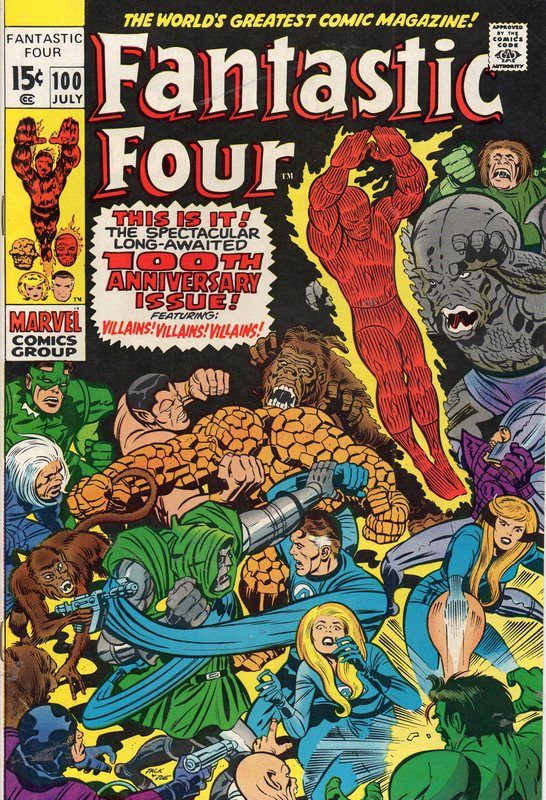Fantastic Four #100.