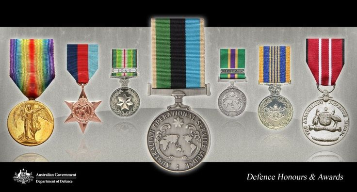 Home : Defence Medals   : Department of Defence