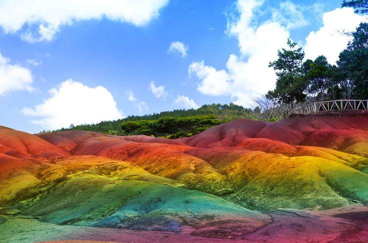 Самые красочные места земли / Путешествия / Моя Планета