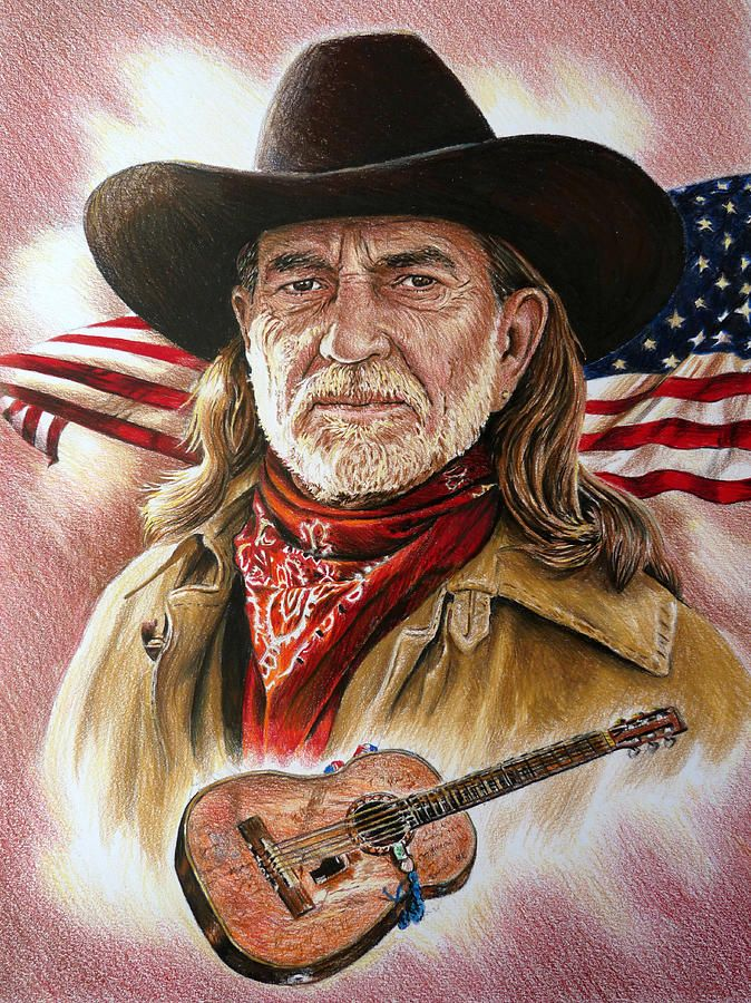 Willie Nelson American Legend by Andrew Read in 2019 ...